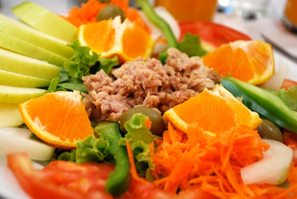 Salad in Porto