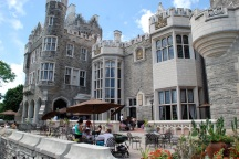 Back side of Casa Loma