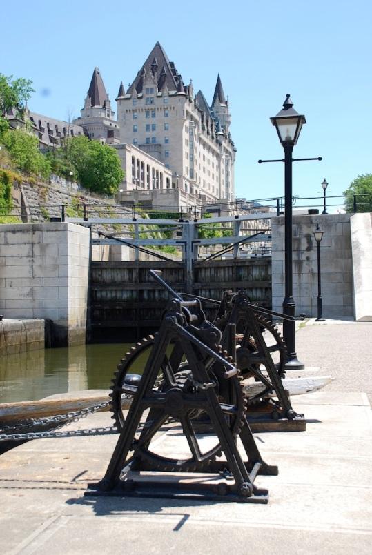 Chateau Laurier & Rideau Canal