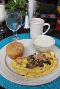 Barbadoes Room, Breakfast