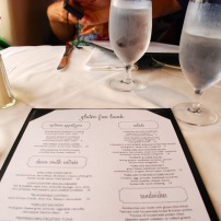 Magnolia's, Gluten-free Lunch Menu