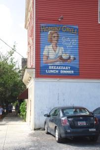 Hominy Grill, Exterior