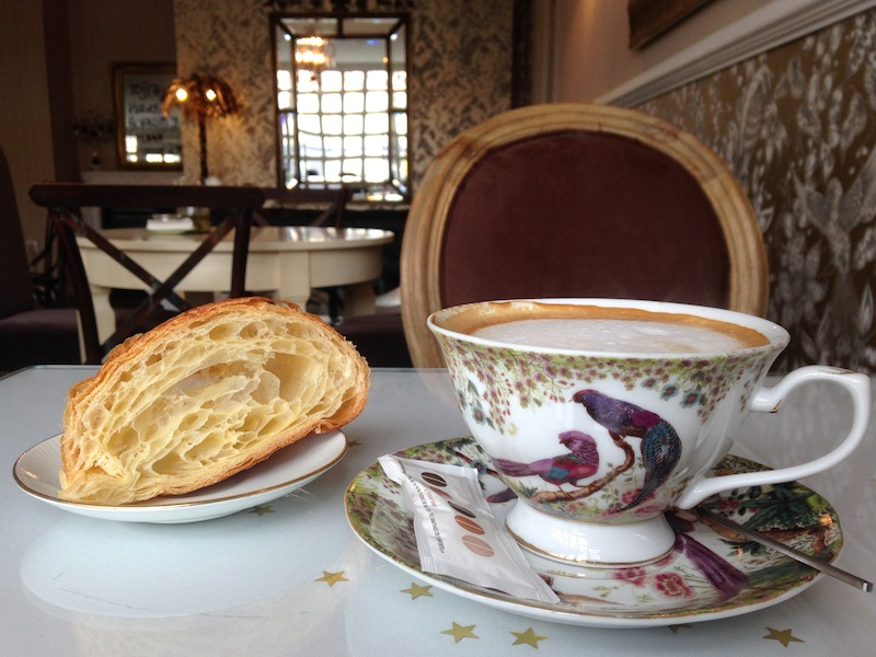 A new café discovery: Pan e Chocolate, Santiago de Compostela.