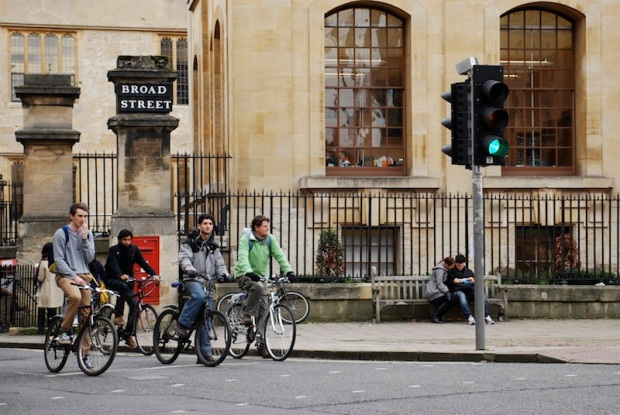 Bikes on Broad Street