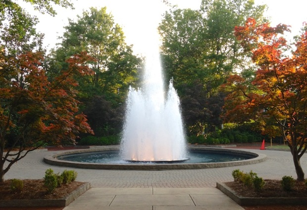 Fountain at Herty Field (Athens, GA)