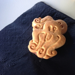 GF chocolate-coated animal crackers