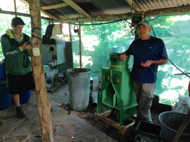 Victor Ramirez, El Cafetal Coffee Tour